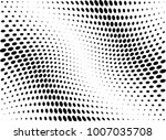 abstract halftone wave dotted... | Shutterstock .eps vector #1007035708