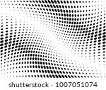 abstract halftone wave dotted... | Shutterstock .eps vector #1007051074