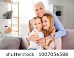 close up portrait of excited...   Shutterstock . vector #1007056588