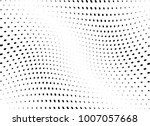 abstract halftone wave dotted... | Shutterstock .eps vector #1007057668