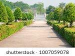 the walk in the open garden | Shutterstock . vector #1007059078
