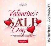 elegant template of sale banner ... | Shutterstock .eps vector #1007060254