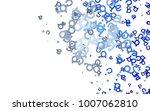 light blue vector template with ...   Shutterstock .eps vector #1007062810