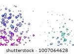 light multicolor  rainbow...   Shutterstock .eps vector #1007064628