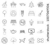 environmental standard icons... | Shutterstock .eps vector #1007069506