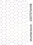 light red geometric simple... | Shutterstock . vector #1007076448