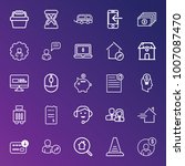 business outline vector icon... | Shutterstock .eps vector #1007087470