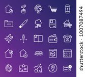 business outline vector icon... | Shutterstock .eps vector #1007087494