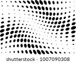 abstract halftone wave dotted... | Shutterstock .eps vector #1007090308