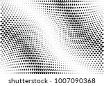 abstract halftone wave dotted... | Shutterstock .eps vector #1007090368