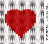 happy valentine's day vector... | Shutterstock .eps vector #1007097553