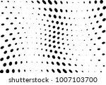 abstract halftone wave dotted... | Shutterstock .eps vector #1007103700