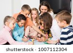 professor and elementary age... | Shutterstock . vector #1007112304