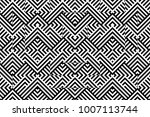seamless pattern with striped... | Shutterstock .eps vector #1007113744