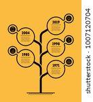 timeline infographics. business ... | Shutterstock .eps vector #1007120704
