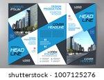 business brochure. flyer design.... | Shutterstock .eps vector #1007125276