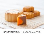 mid autumn festival moon cake... | Shutterstock . vector #1007126746