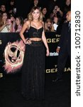 """miley cyrus at """"the hunger... 