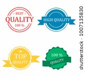 badges and quality stamp. ...   Shutterstock .eps vector #1007135830