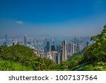 beautiful view of the skyline... | Shutterstock . vector #1007137564