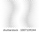 abstract halftone wave dotted... | Shutterstock .eps vector #1007139244