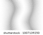 abstract halftone wave dotted... | Shutterstock .eps vector #1007139250