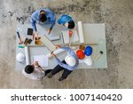 group of four people including... | Shutterstock . vector #1007140420