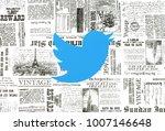 kiev  ukraine   january 15 ...   Shutterstock . vector #1007146648