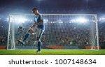 soccer game moment  on... | Shutterstock . vector #1007148634