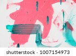 fragment of original abstract... | Shutterstock . vector #1007154973