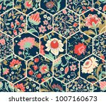 seamless abstract colorful... | Shutterstock .eps vector #1007160673