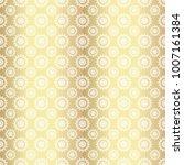 gold metallic regular seamless...   Shutterstock . vector #1007161384
