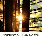 Golden Sunrise Behind A...