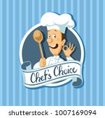 chef choise label flat design... | Shutterstock .eps vector #1007169094