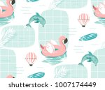 hand drawn vector abstract cute ... | Shutterstock .eps vector #1007174449