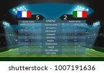 football stadium and soccer...   Shutterstock .eps vector #1007191636