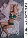 beauty. beautiful sexy young... | Shutterstock . vector #1007197330