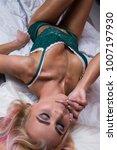 beauty. beautiful sexy young... | Shutterstock . vector #1007197930