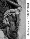 beauty. beautiful sexy young... | Shutterstock . vector #1007198098