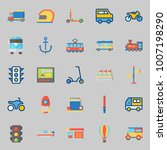 icons set about transportation. ... | Shutterstock .eps vector #1007198290