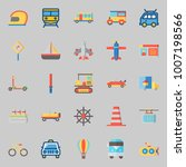 icons set about transportation. ... | Shutterstock .eps vector #1007198566