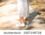 shoe style leg | Shutterstock . vector #1007198728