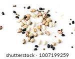 assorted legumes isolated on... | Shutterstock . vector #1007199259
