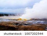 yellowstone national park ...   Shutterstock . vector #1007202544