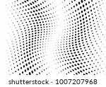 abstract halftone wave dotted... | Shutterstock .eps vector #1007207968