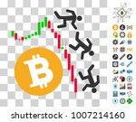 falling bitcoin traders...