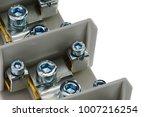detail of protective bonding... | Shutterstock . vector #1007216254