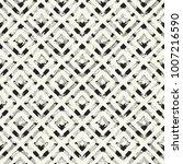 abstract broken geometric motif ... | Shutterstock .eps vector #1007216590