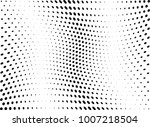 abstract halftone wave dotted... | Shutterstock .eps vector #1007218504