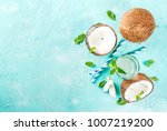 healthy food concept.  fresh... | Shutterstock . vector #1007219200